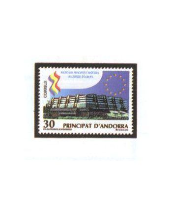 250 Ingreso Andorra en Consejo Europa  - 2