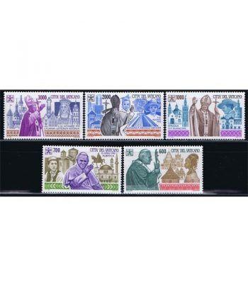 Vaticano 0990/93 Viajes de Juan Pablo II (VII) 1994.  - 2
