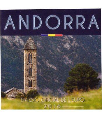 Monedas Euroset Andorra 2016.  - 1