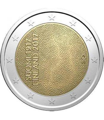 moneda conmemorativa 2 euros Finlandia 2017 Independencia  - 2