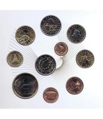 Cartera oficial euroset Eslovenia 2017. Incluye 2 y 3 euros  - 4