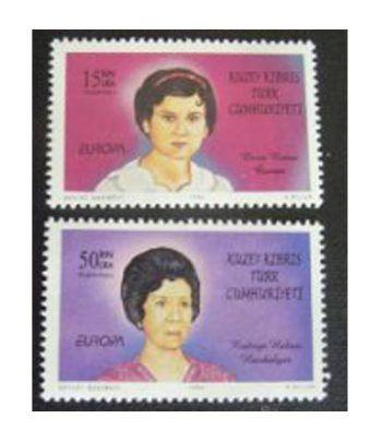 Europa 1996 Chipre Turco (sellos)  - 2