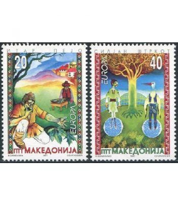Europa 1997 Macedonia (sellos)  - 2