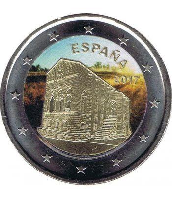moneda conmemorativa 2 euros España 2017 Naranco color B  - 2