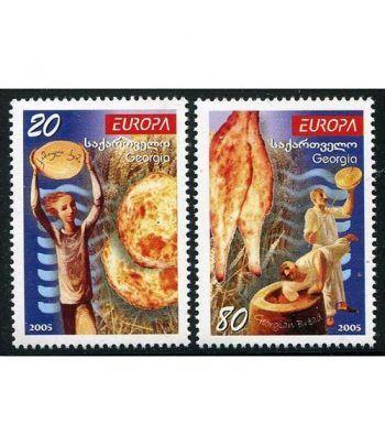 Europa 2005 Georgia (2v)  - 2