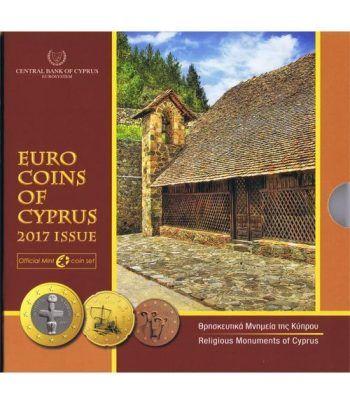Cartera oficial euroset Chipre 2017.  - 1