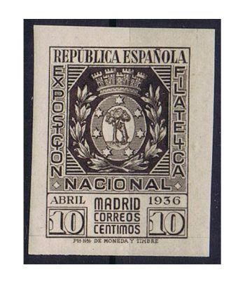 0728 Exposición Filatélica Madrid.  - 1