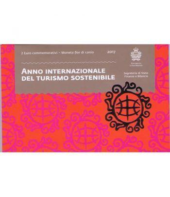 moneda conmemorativa 2 euros San Marino 2017 Turismo  - 4