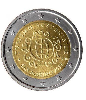 moneda conmemorativa 2 euros San Marino 2017 Turismo  - 1