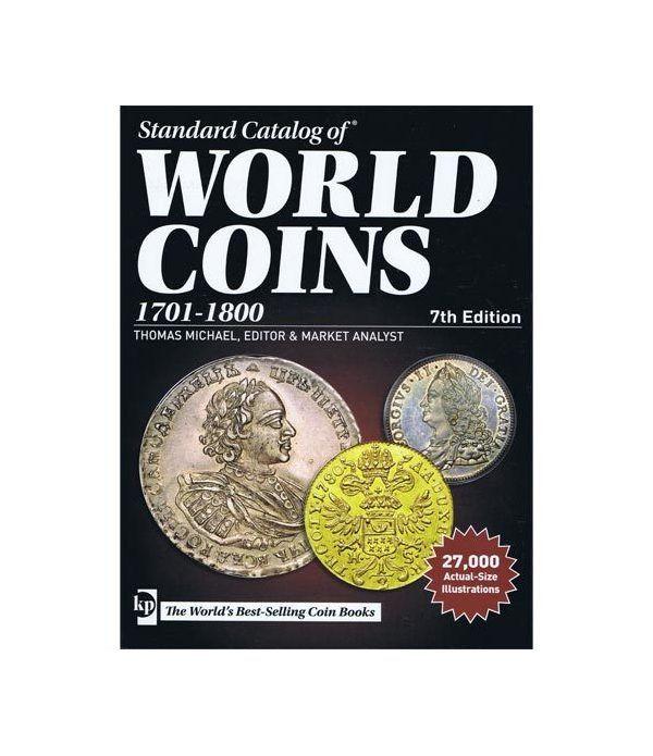 Catálogo de Monedas Mundiales World Coins 1701-1800 Edición 7 Catalogos Monedas - 2