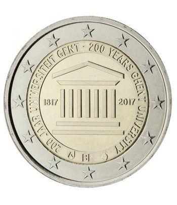 moneda conmemorativa 2 euros Belgica 2017 Universidad Gante  - 2