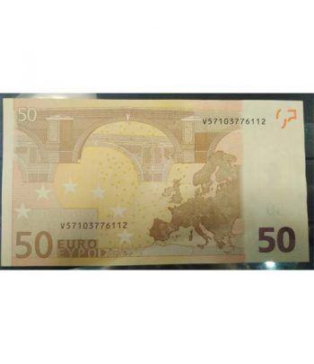 (2002) Madrid. 50 euros. Error Sin Holograma. SC.  - 2