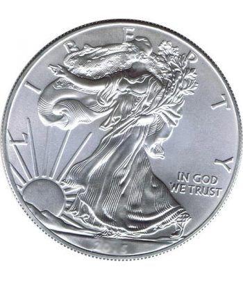 Moneda onza de plata 1$ Estados Unidos Liberty 2011  - 1