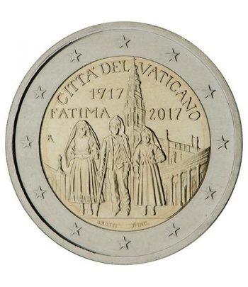 moneda conmemorativa 2 euros Vaticano 2017 Fátima  - 2