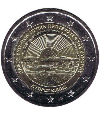 moneda conmemorativa 2 euros Chipre 2017 Pafos  - 2