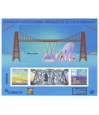 5172 HB Exfilna 2017. Portugalete. Puente Metálico  - 1