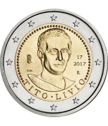 moneda conmemorativa 2 euros Italia 2017 Tito Livio  - 2