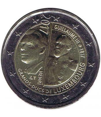 moneda conmemorativa 2 euros Luxemburgo 2017 Guillermo III.  - 2