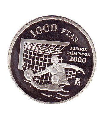 1000 Pesetas 1999 Juegos Olímpicos Sidney 2000. Madrid SC.  - 4