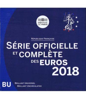 Cartera oficial euroset Francia 2018.  - 2