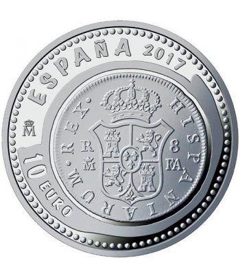 Moneda 2017 Joyas Numismaticas 8 Reales. 10 euros. Plata  - 1