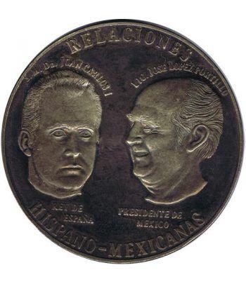 Medalla Relaciones Hispano Mexicanas 1977. Plata.  - 1