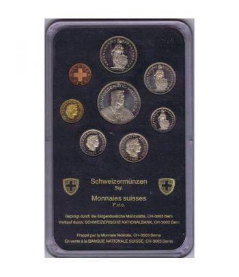 Estuche monedas Suiza 1984  - 2