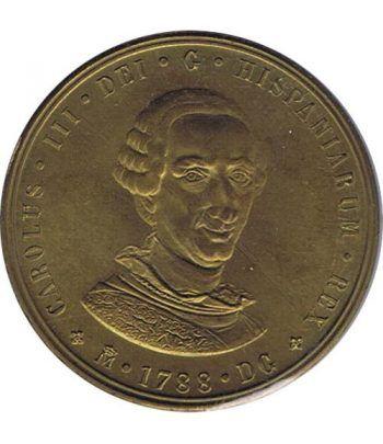 Medalla Bicentenario Carlos III / Juan Carlos I. Cobre.  - 1