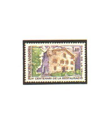 image: 162 Minipliego I Exposicion oficial sellos Andorra.
