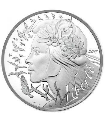 image: Moneda onza de plata 10 pesos Cuba Reina Juana 1991.