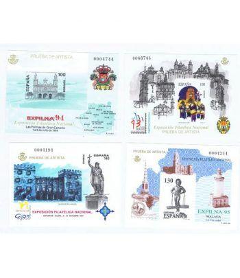 Colección Sellos de España Pruebas Lujo 1993 a 2000  - 1
