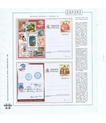 Colección Entero Postales de España 1984/1998.  - 1