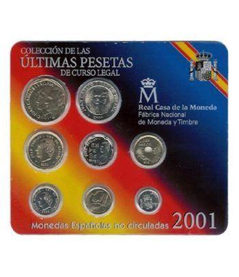 Colección 10 carteras FNMT España 1992 a 2001.  - 2