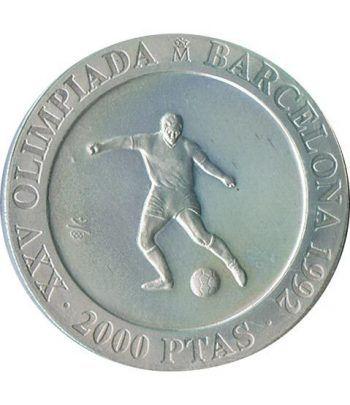2000 Pesetas 1990 Juegos Olimpicos Barcelona'92 Futbol suelta  - 1