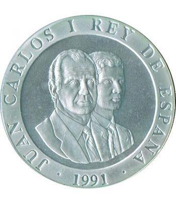 2000 Pesetas 1991 Juegos Olimpicos Barcelona'92 Jinete suelta  - 2