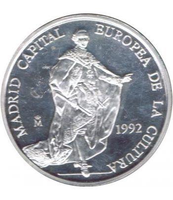 5 ECU. Madrid Capital Europea de la Cultura 1992. Suelta.  - 2
