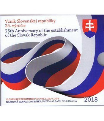 Cartera oficial euroset Eslovaquia 2018.  - 1