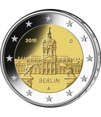 moneda conmemorativa 2 euros Alemania 2018 (5) Berlín  - 2