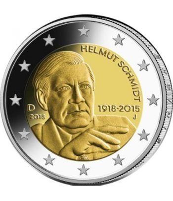 moneda conmemorativa 2 euros Alemania 2018 (5) Schmidt.  - 2