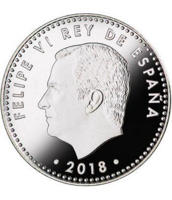Moneda conmemorativa 30 Euros 2018. 50 Años Felipe VI color.  - 4