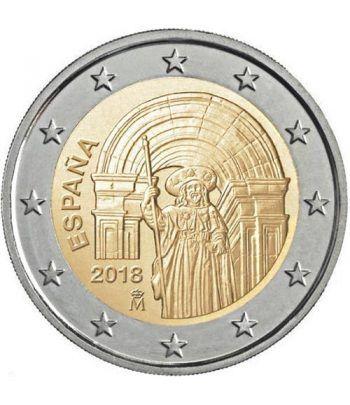 moneda conmemorativa 2 euros España 2018 Santiago de Compostela  - 2