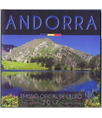 Monedas Euroset Andorra 2017.  - 1