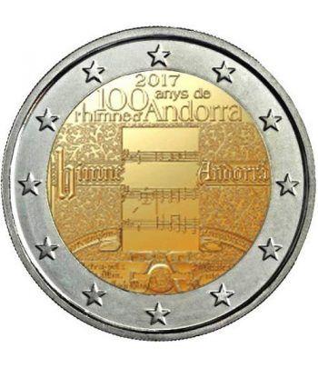 moneda conmemorativa 2 euros Andorra 2017 Himno Nacional. BU.  - 1