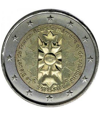 moneda conmemorativa 2 euros Francia 2018 El Aciano.  - 2