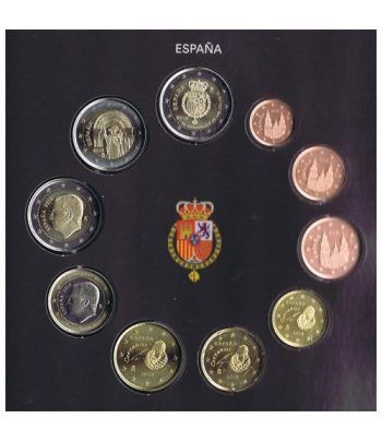 Cartera oficial euroset España 2018 + 2€ Felipe VI y Santiago  - 4