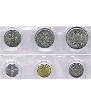 Juan Carlos serie de monedas año 1975 *19-76. SC  - 1