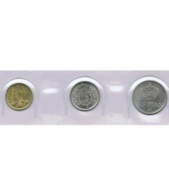 Juan Carlos serie de monedas año 1975 *19-77. SC.  - 1