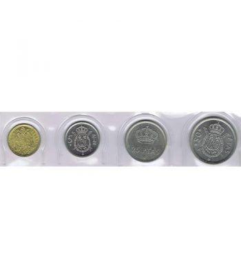 Juan Carlos serie de monedas año 1975 *19-80. SC.  - 1