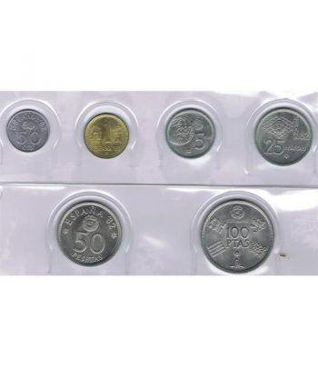 Juan Carlos serie de monedas año 1980 *19-80 Mundial. SC  - 1