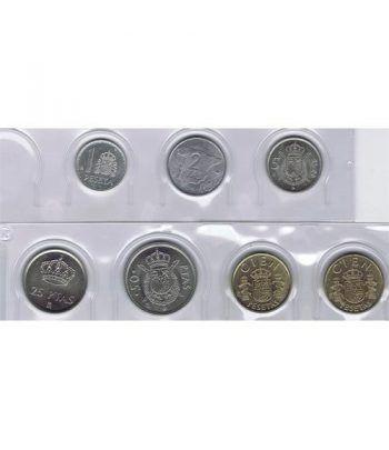 Juan Carlos serie de monedas año 1982. SC  - 1